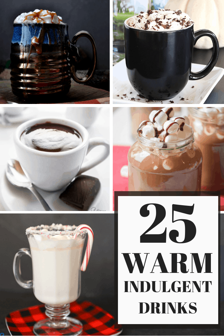 25 warm indulgent drink recipes