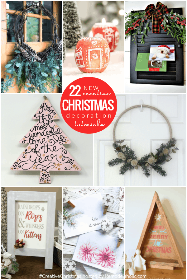 22 new creative christmas decoration tutorials