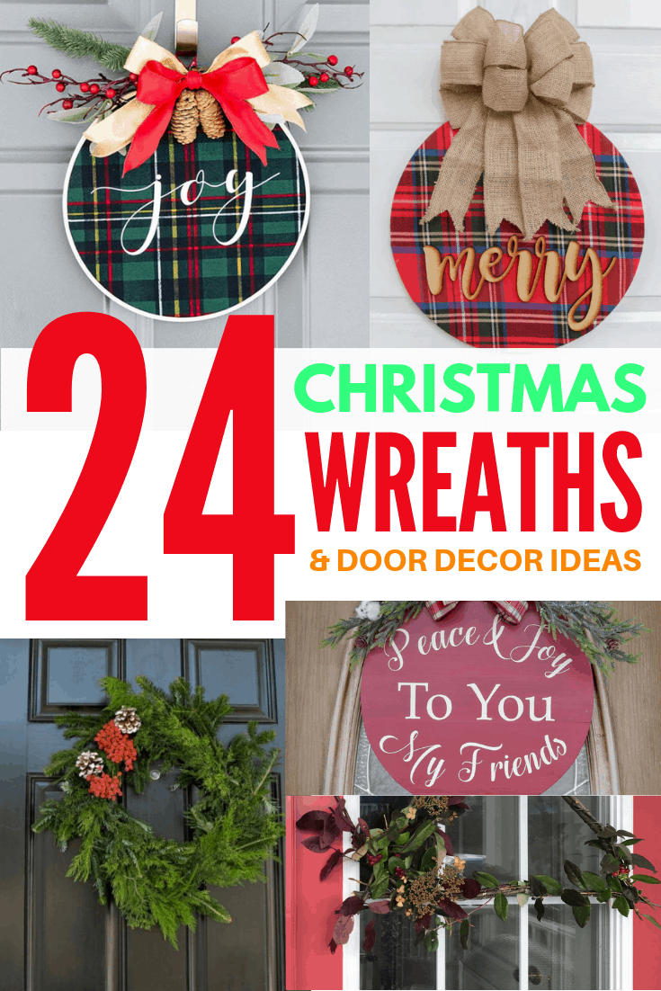 24 christmas wreaths and door decor ideas 2