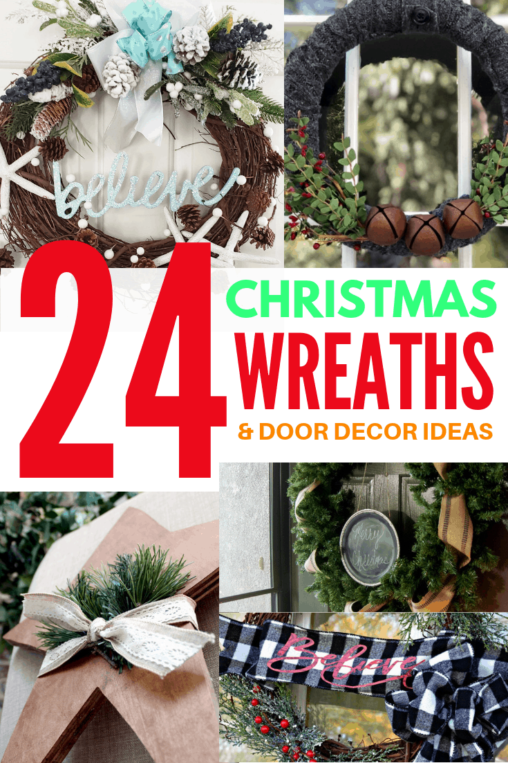 24 christmas wreaths and door decor ideas 3