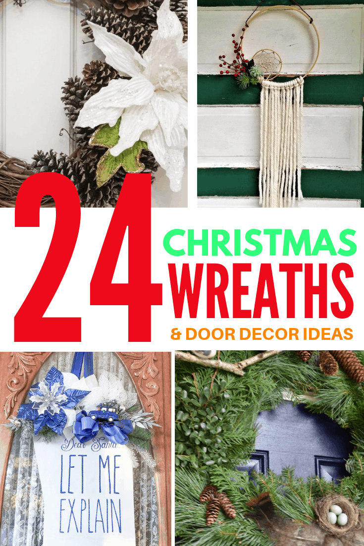 24 christmas wreaths and door decor ideas 5