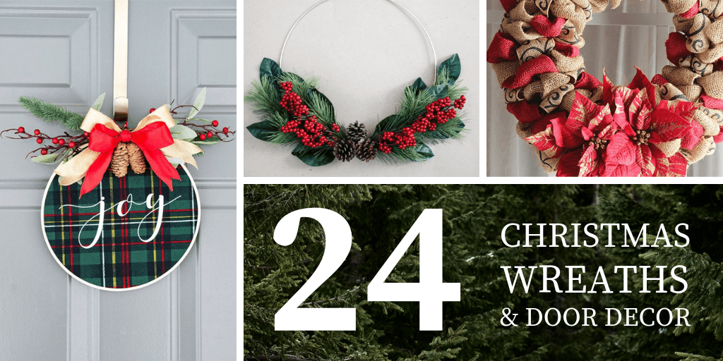25 christmas wreaths and door decor landscape