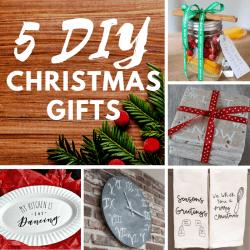 5 DIY Christmas gifts square