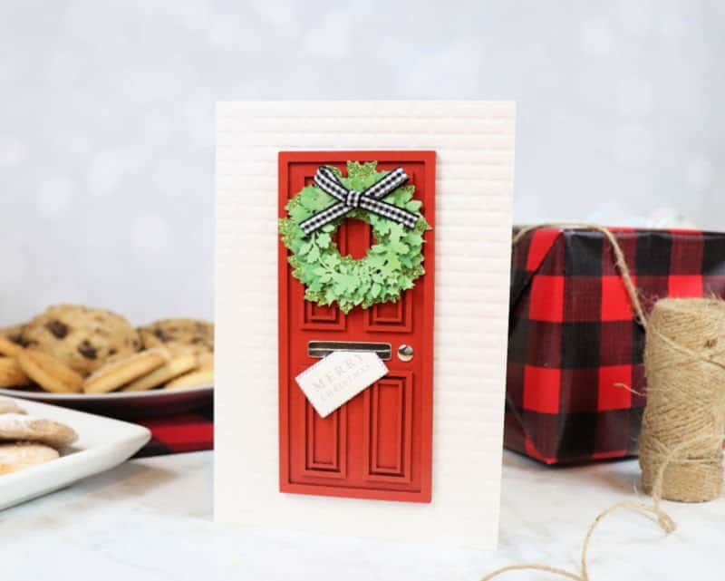 5 Tips for Hosting a Christmas Cookie Exchange card standing