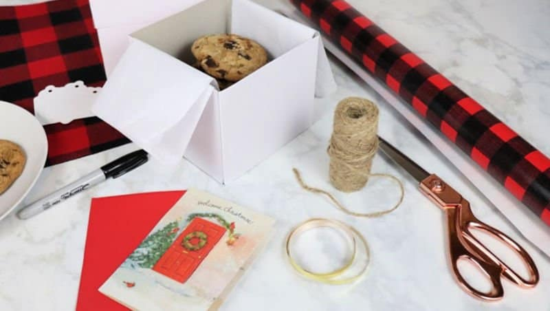 5 Tips for Hosting a Christmas Cookie Exchange wrapping