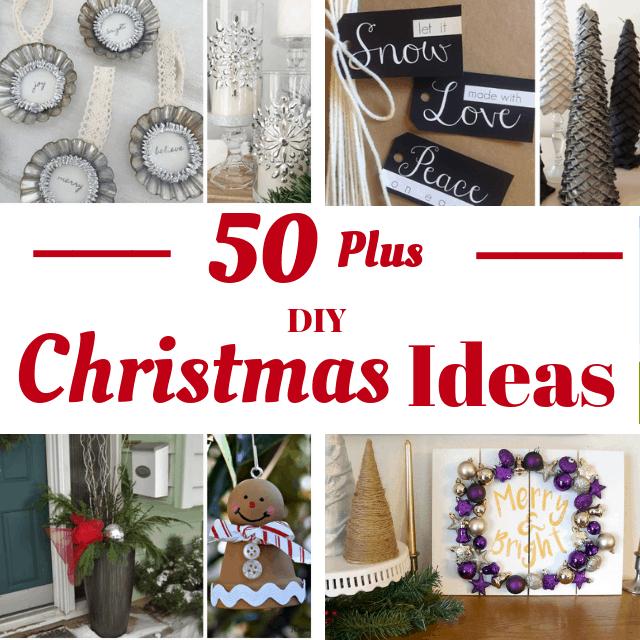 50 DIY Christmas Ideas and 12 Days of Christmas Kick Off