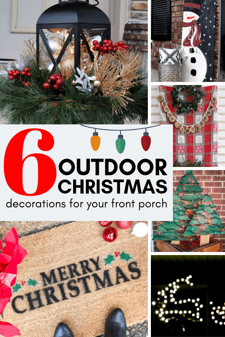 6 outdoor christmas decorations for your front porch