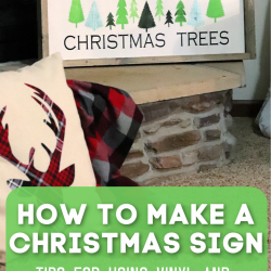 How to make a Christmas sign