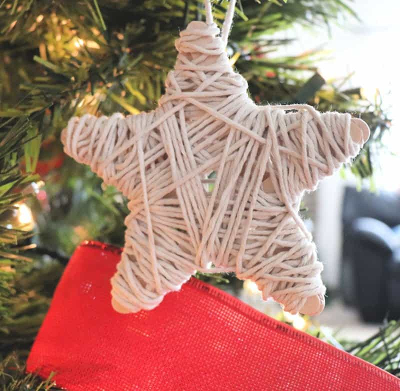 dollar store twine ornament - Creative Ramblings
