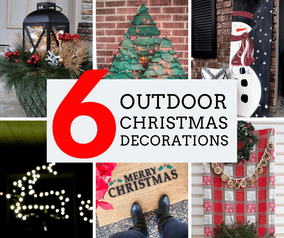 6 outdoor christmas decorations