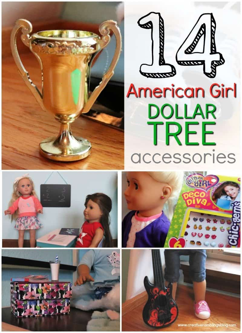 14 American Girl Dollar Tree Accessories