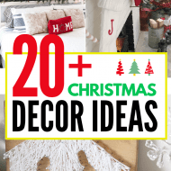 20+ Christmas Home Decor Ideas