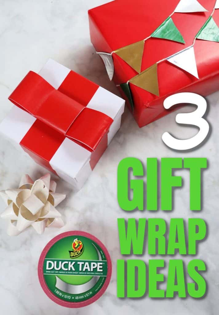 3 creative Christmas gift wrapping ideas - PIN 1