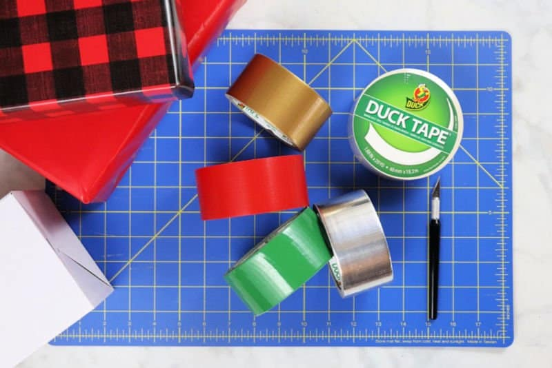 3 creative Christmas gift wrapping ideas - supplies