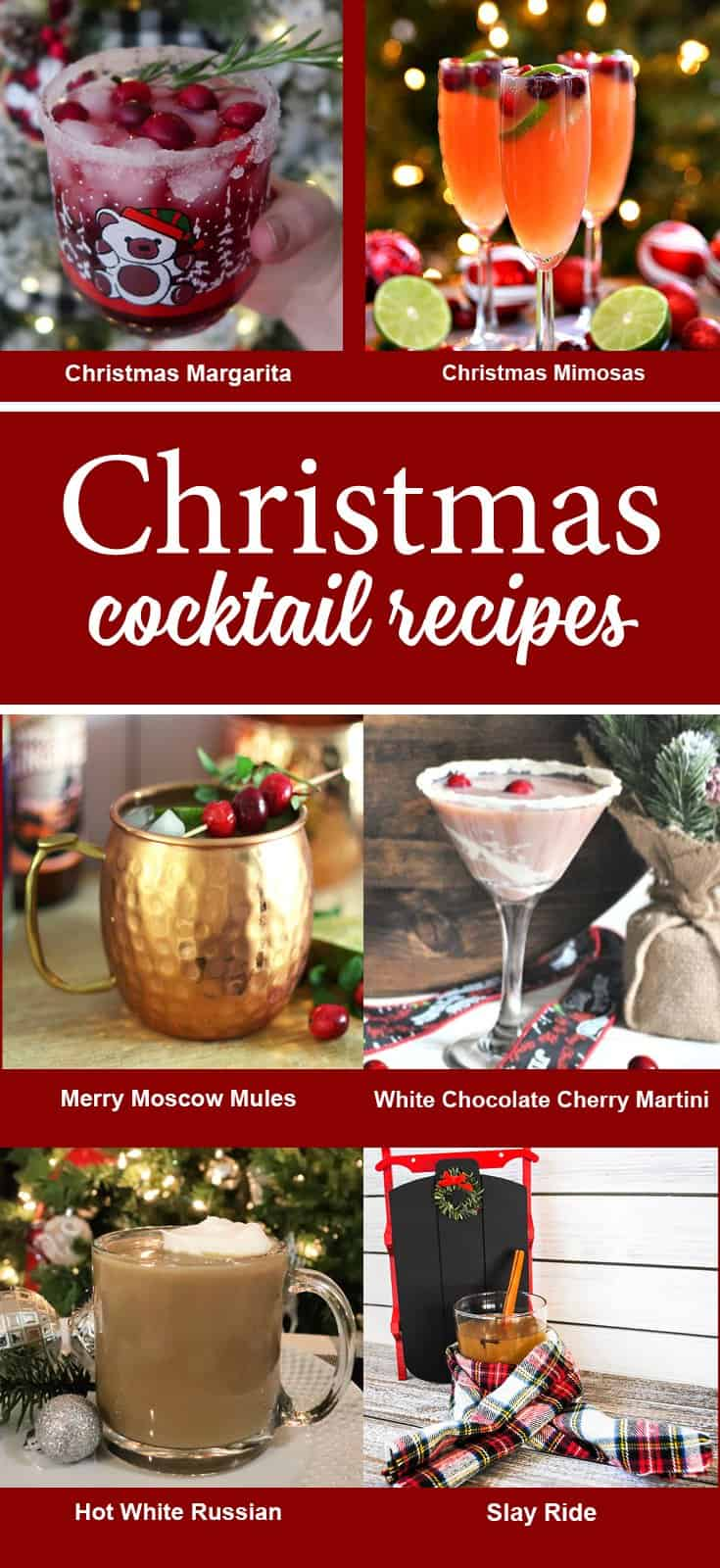 6 Christmas Cocktail recipes