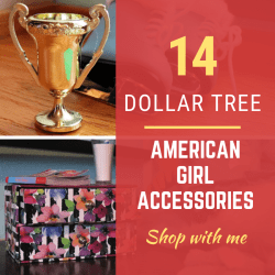 14 Dollar Tree American Girl Accessories