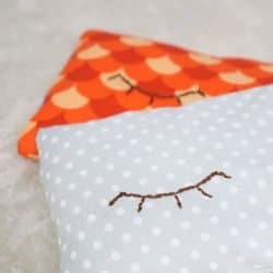 how to sew a rice filled eye pillow sq