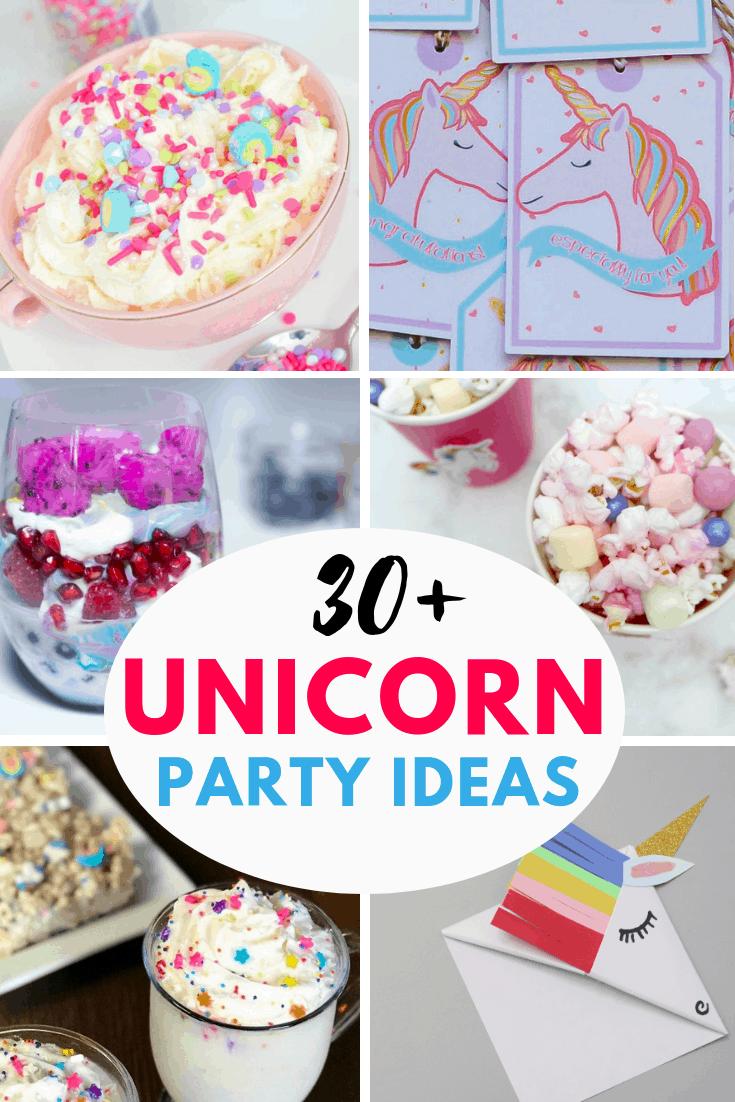 30 unicorn party ideas