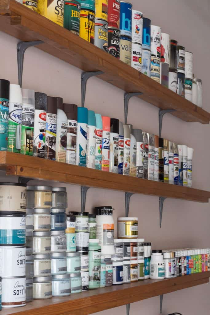 7 ways to organize an office or craft room creative - Supplies needed to paint a room ...