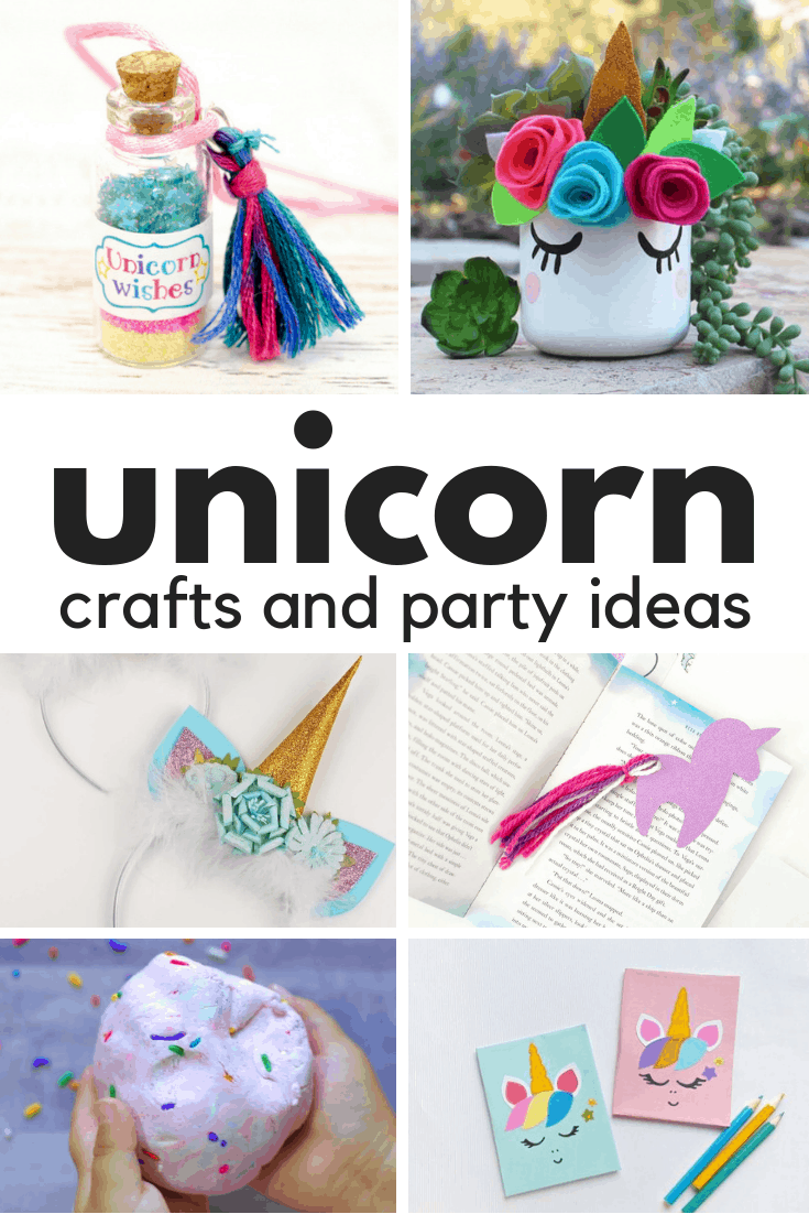 Unicorn craft and party ideas