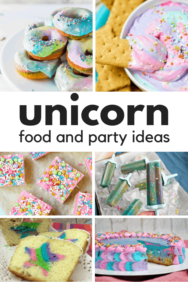 Unicorn food and party ideas