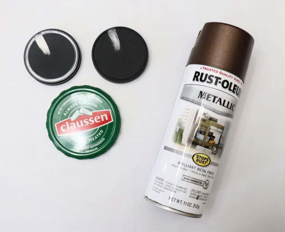 bathroom tray paint lids