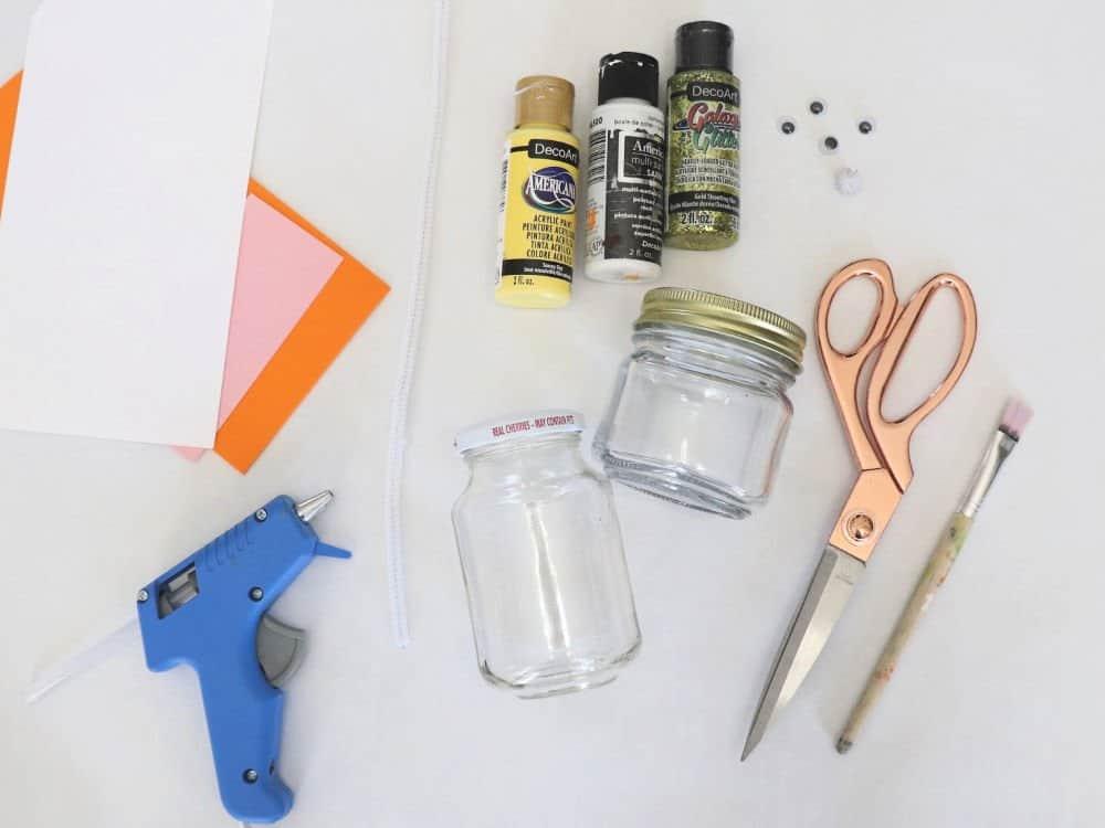 easter mason jars supplies