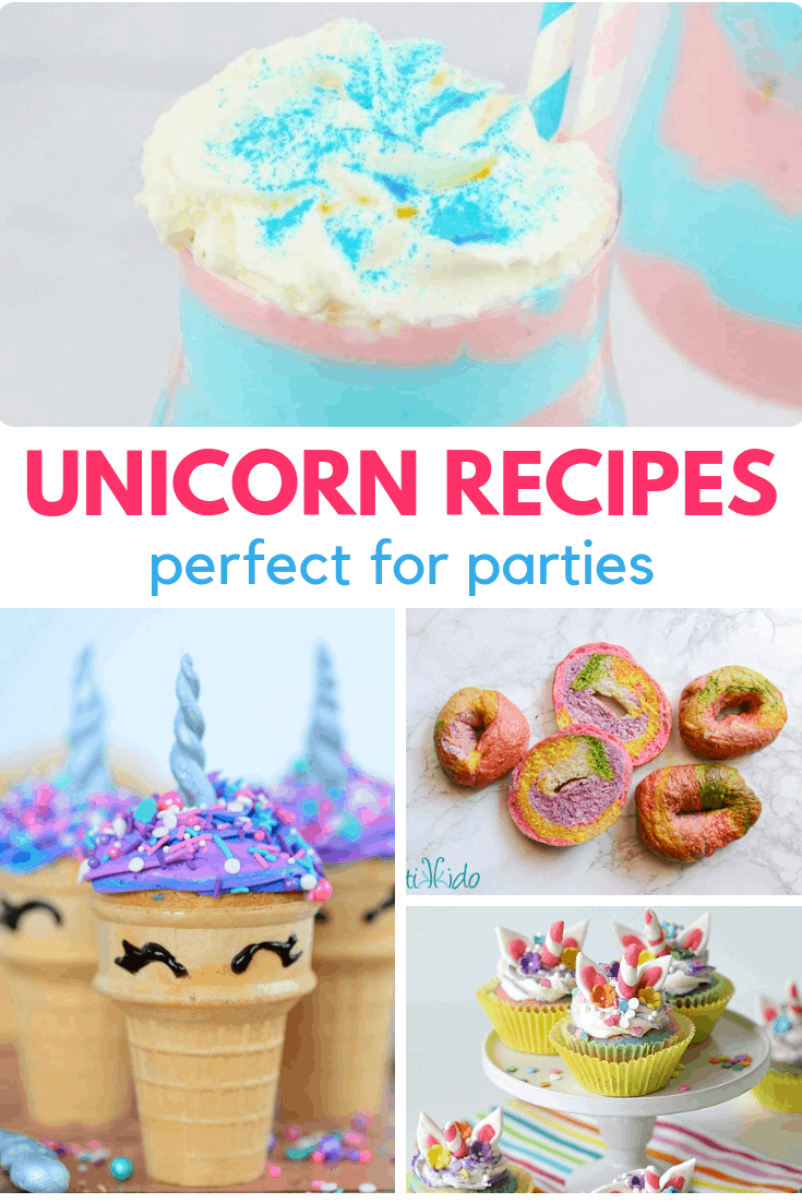 unicorn recipes perfect for parties