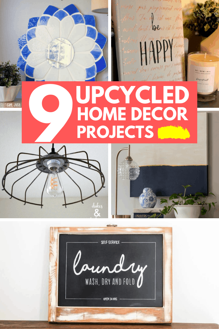 9 upcycled home decor projects 2