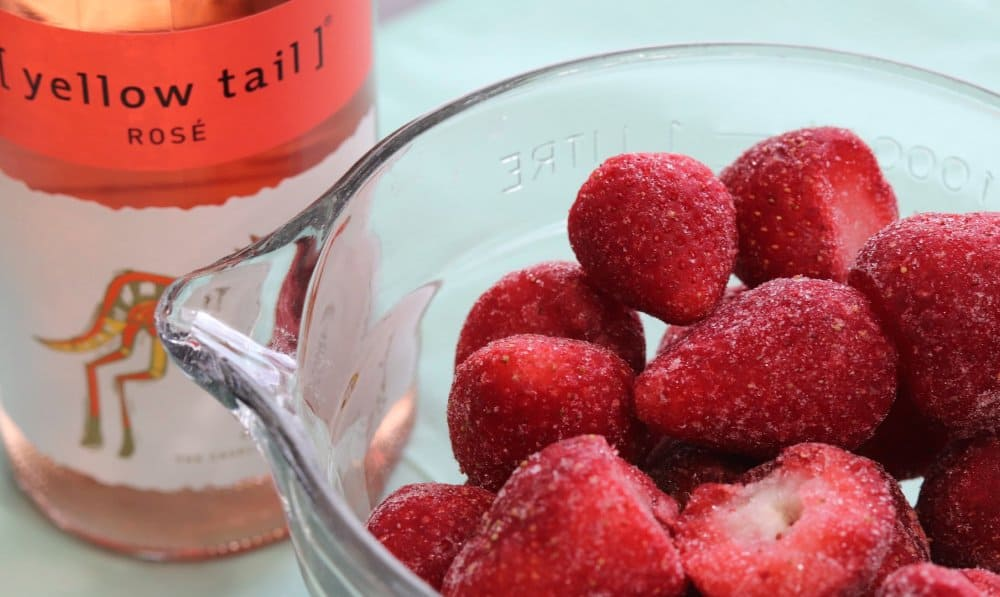 Strawberry frose ingredients
