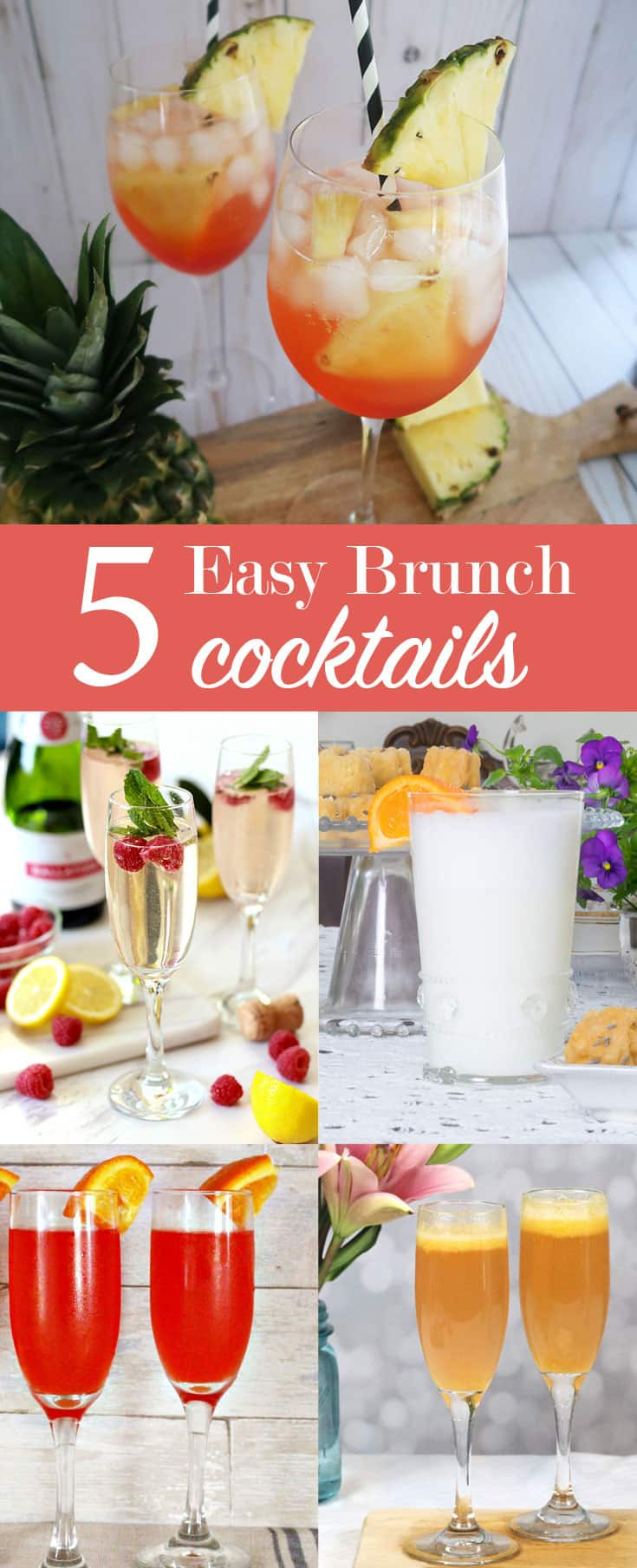 5 brunch cocktail recipes