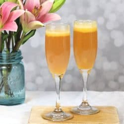Mango Bellini Cocktail Recipe