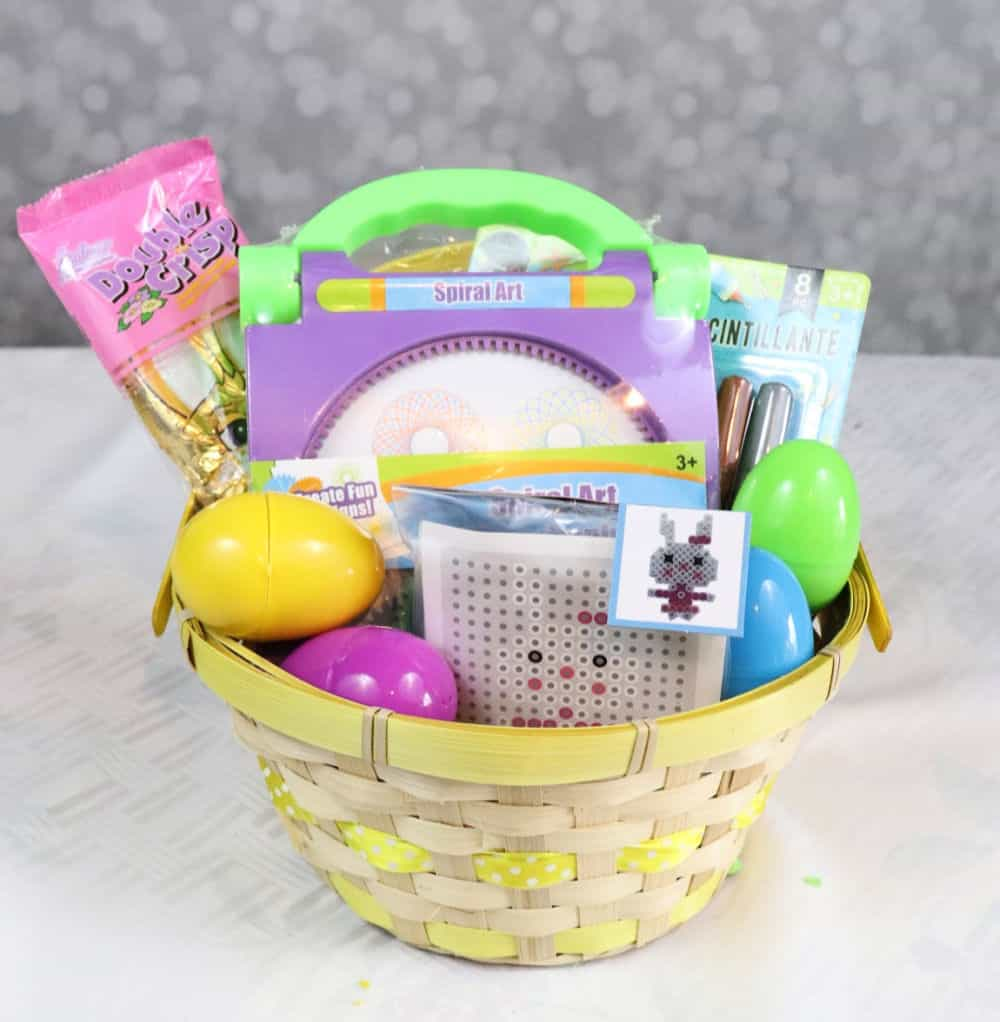 Dollar Tree craft easter basket