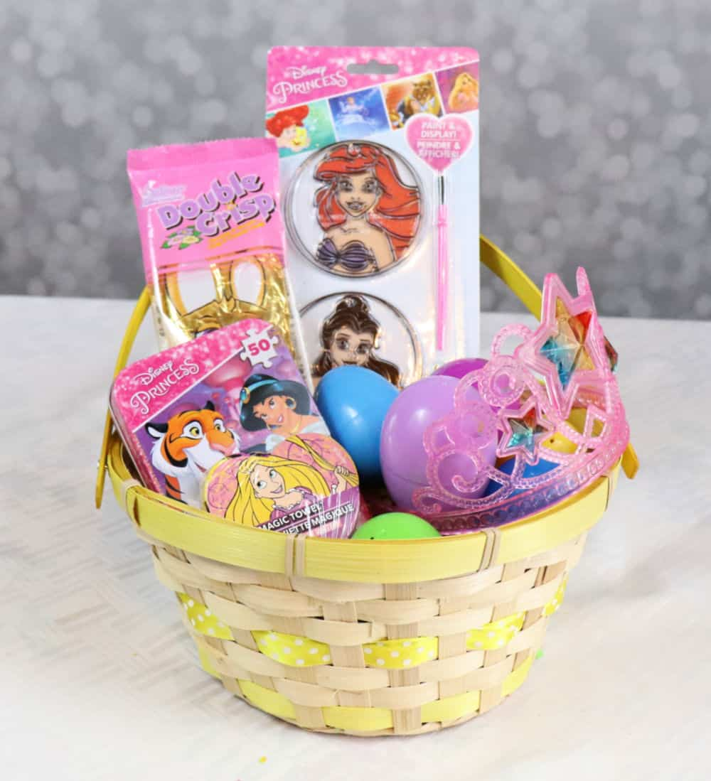 Dollar Tree Princess Easter basket