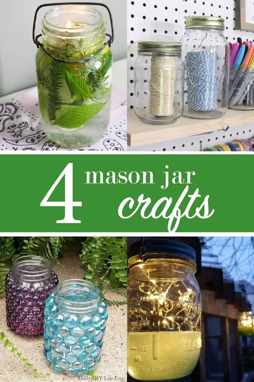 4 easy mason jar crafts