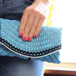 DIY clutch - Creative Ramblings