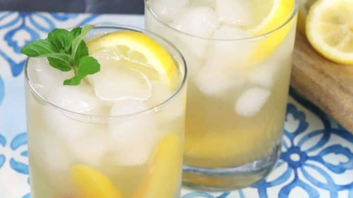 Sparkling Bourbon Lemonade Cocktail Recipe - Creative Ramblings