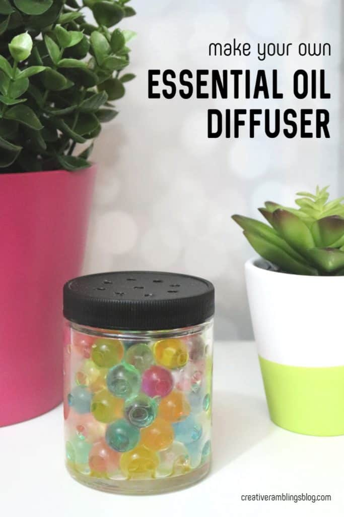 DIY Essential Oil DIffuser with Water Beads