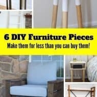 6 Inexpensive DIY Wood Projects