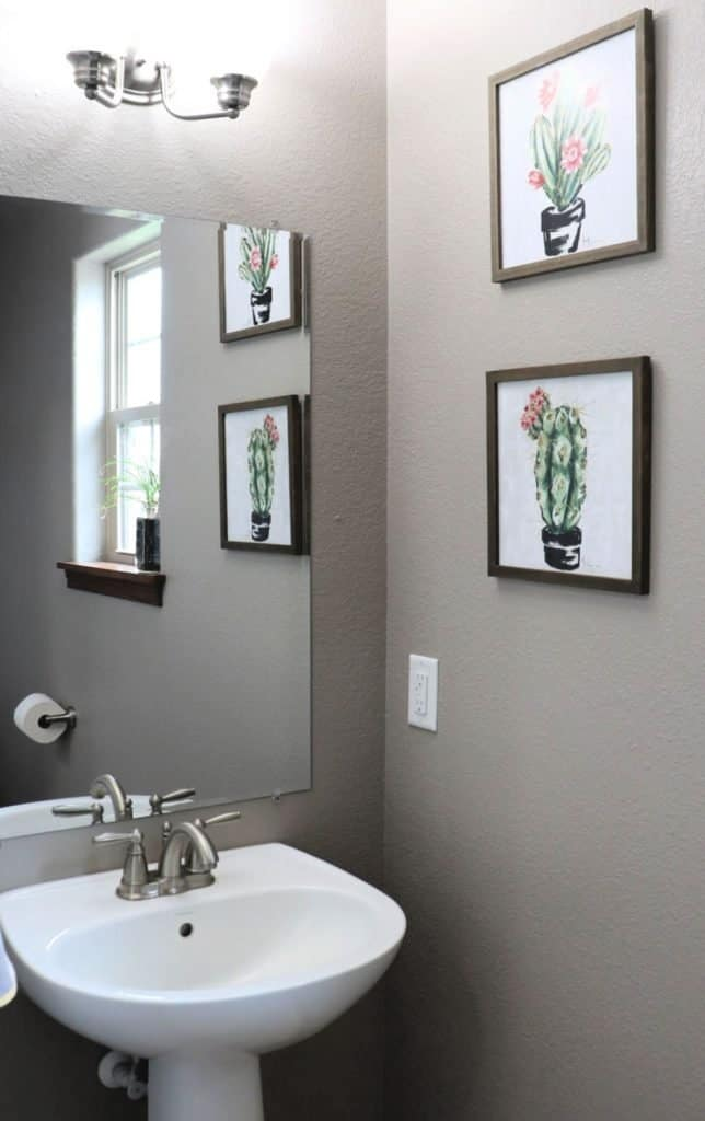 tips to update a bathroom - fifth photo