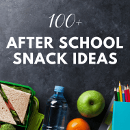100+ After School Snack Recipes and Ideas