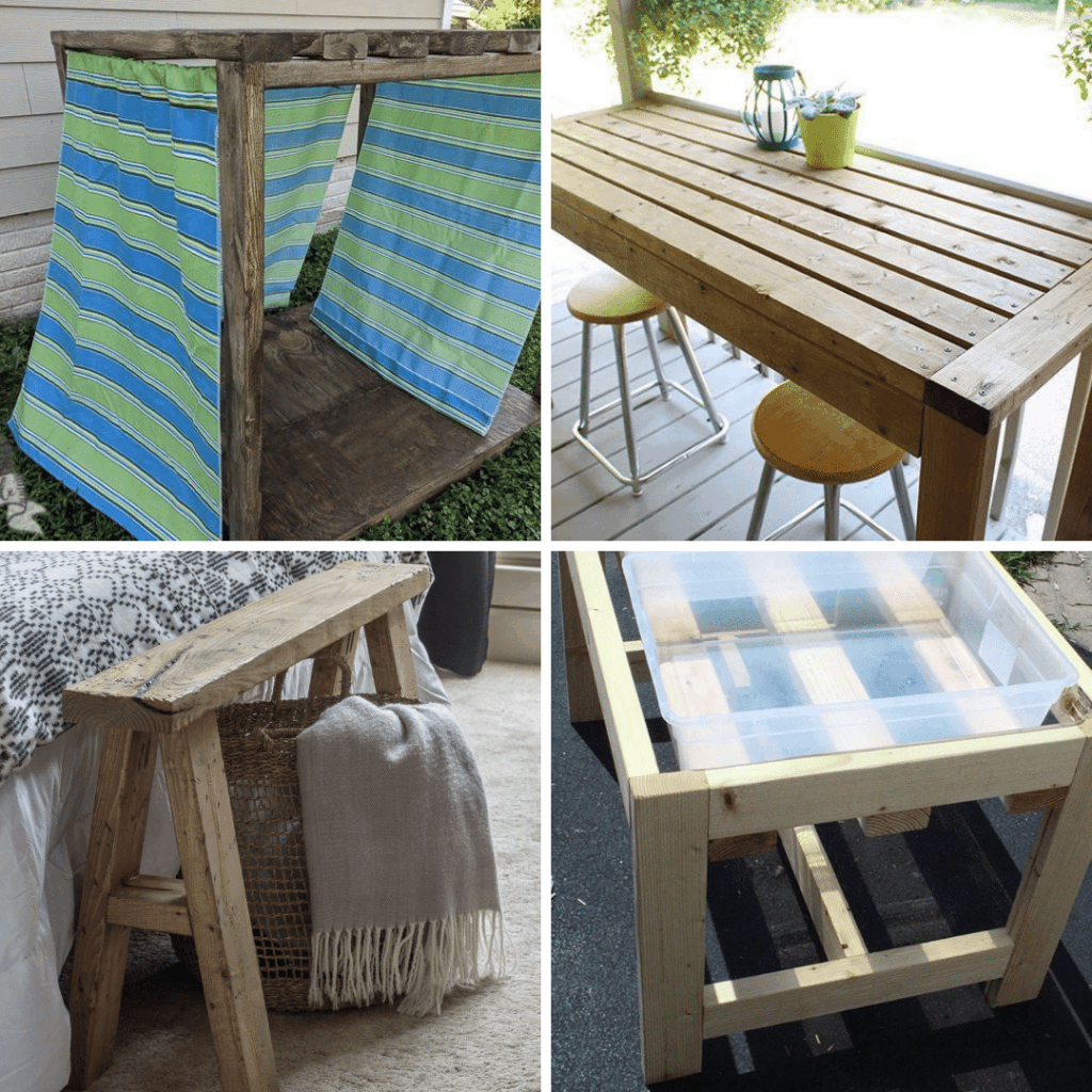 2x4 furniture projects you can DIY