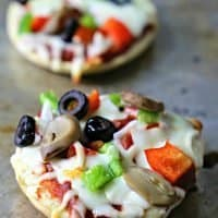 Bagel Pizza Bites