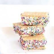 Crowd Pleasing Frozen Cool Whip Sandwich Dessert