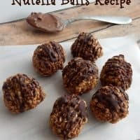 Delightful Peanut Butter Nutella Balls Recipe