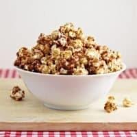 Peanut Butter & Jelly Popcorn Recipe