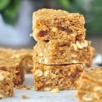 Vegan Peanut Butter Bars