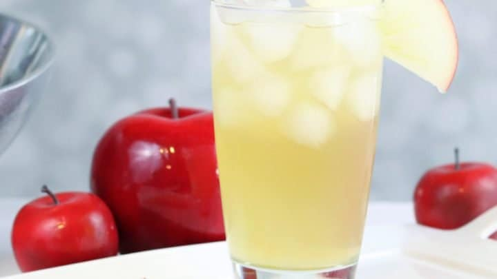 brandy apple snap fall cocktail