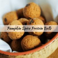 The Best Pumpkin Spice Protein Balls Recipe
