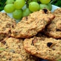 3 Ingredient Cookie Oat Biscuits Recipe